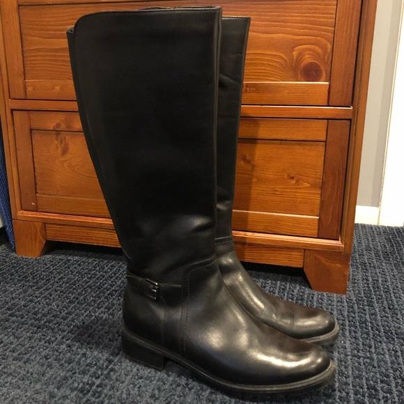 Blondo Evie Black Leather Boot